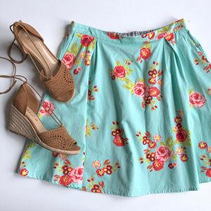 Matilda Jane Floral A-Line 'Natural Beauty' Skirt